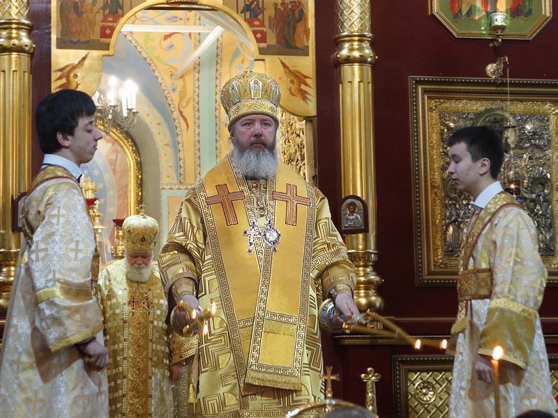 Знаменский собор Иркутской епархии